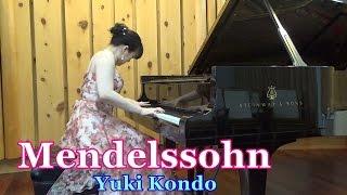 結婚行進曲(メンデルスゾーン)ピアニスト 近藤由貴/Mendelssohn: Wedding March Piano Solo, Yuki Kondo