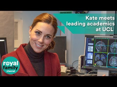 Duchess of Cambridge meets leading academics at UCL