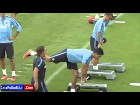 Alternative to Atle. Madrid fitness session