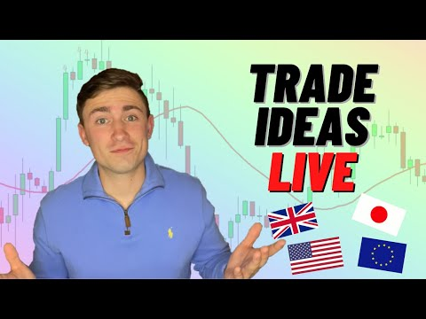 LIVE Forex Trading: Analysis & Setups | Time to Sell the GBP Pairs?