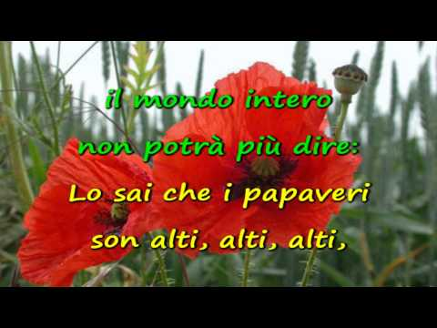 Karaoke - Papaveri e papere - Nilla Pizzi