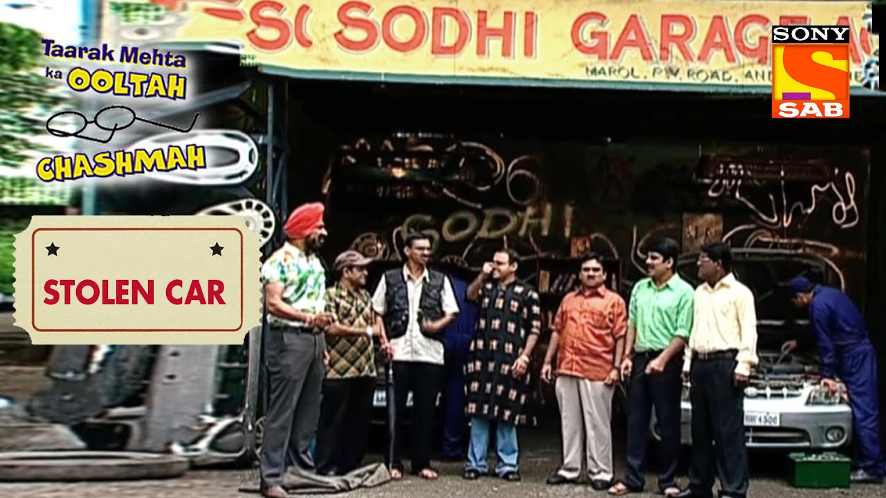 Men Of Gokuldham Set A Trap For The Car Thief | Taarak Mehta Ka Ooltah Chashmah | Stolen Car