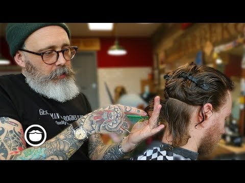 Master Barber Transforms a Traveler from New Zealands Style