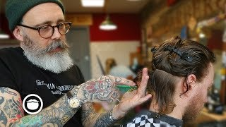Download Master Barber Transforms a Traveler from New Zealand's Style Mp3 and Videos