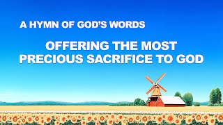 "English Christian Devotional Song With Lyrics | ""Offering the Most Precious Sacrifice to God"""