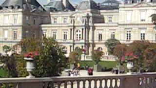 JARDIM DO PALÁCIO DE LUXEMBURGO - PARIS