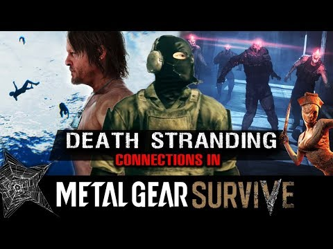 Incredible Death Stranding *Connections* in METAL GEAR SURVIVE! - The BRIDGE to Silent Hills?!