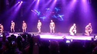 Soiree Striptease des Pompiers de Liege 27/10/2012