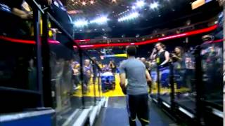 Stephen Curry s birthday shot from the tunnel