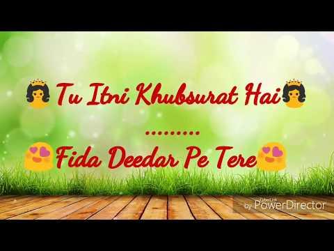 Tu Itni Khubsurat Hai I WhatsApp Status 30 Sec