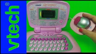 VTECH BARBIE PINK MY FIRST LAPTOP TOY WITH NUMBERS AND MUSIC
