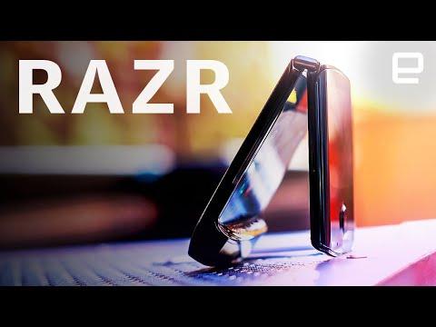 Motorola's RAZR is unlike any other foldable we've used
