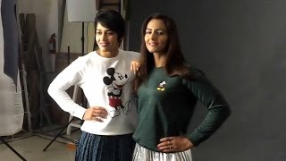 Behind the scenes with Geeta and Babita Phogat