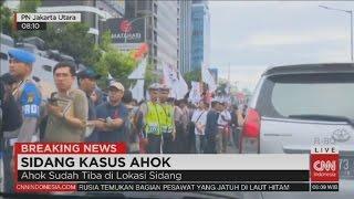 Ahok Tiba Di Lokasi Sidang Pengadilan Jakarta Utara