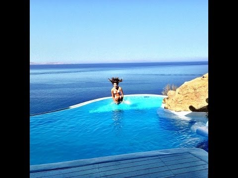 The Best Office View For Traders (Cavo Tagoo Presidential Suite Mykonos, Greece)