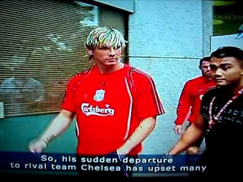 Singapore Liverpool Fans Opinion for TORESS to CHELSEA . AT TV CHANNEL NEWS ASIA