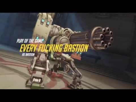 Typical Bastion Play of the Game - Overwatch