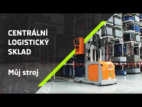 ŠKODA Můj stroj: Centrální logistický sklad
