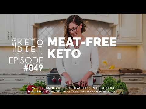 #049 The Keto Diet Podcast: Keto Without Meat