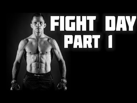 MMA Vlog Episode # 18 | Fight Day Part 1 | Weight Cut