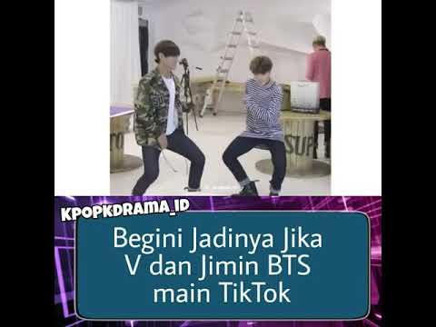 V Dan Jimin BTS Main TikTok