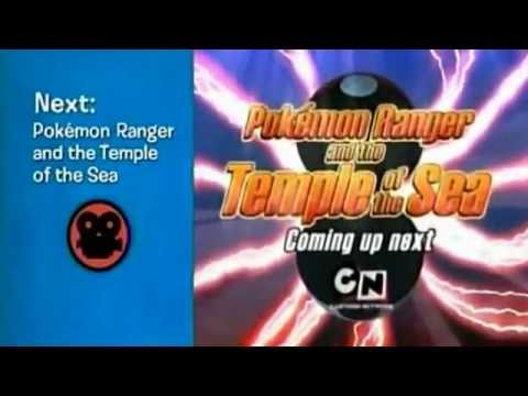 Cartoon Network Promo Pokemon Ranger And The Temple Of The Sea
