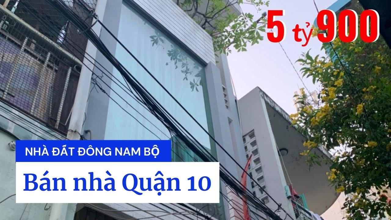 Bán nhà hẻm đường Nhật Tảo Quận 10. DT 3,3x10m, trệt 2 lầu sân thượng