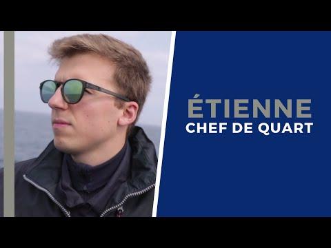 #Portrait - Étienne, officier responsable de la navigation et des opérations maritimes