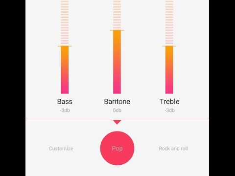 OPPO phone different sound options - Equalizer for best beats