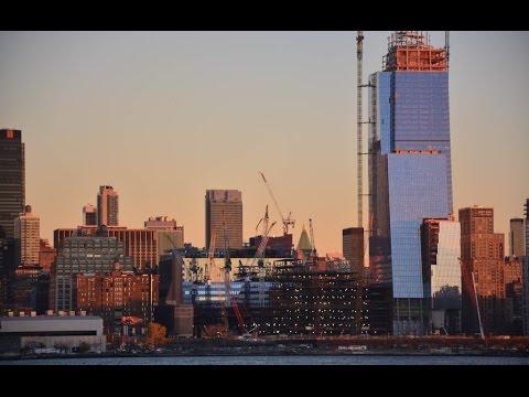 30 Hudson Yards (392m)- NYC's Growing Skyline- Hudson Yard's $20 Billion Project