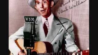 Watch Hank Williams Baby Were Really In Love video