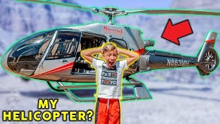 RIDING On A HELICOPTER For The FIRST TIME! | The Royalty Family