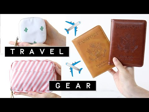 TRAVEL Organization Bags & Gadgets Haul   BEST AMAZON Travel Products + $1000 Giveaway   Miss Louie