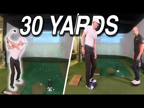 Rich Gaining 30 Yards of Carry by Improving the Footwork in his Golf Swing