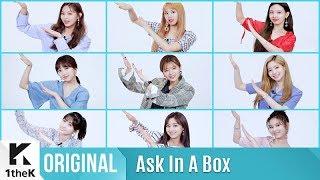 ASK IN A BOX(에스크 인 어 박스): TWICE(트와이스) _ Dance The Night Away
