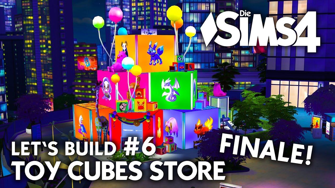Die Sims 4 Kinder Spielwaren Laden Bauen Toy Cubes 6 Let S