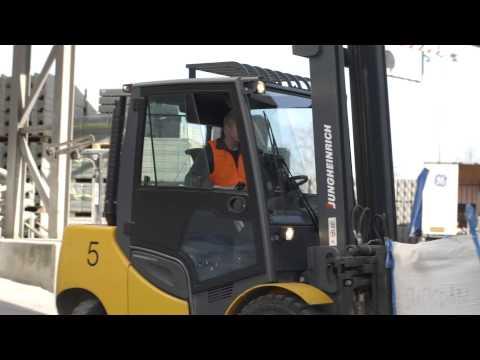 Jungheinrich Forklift Trucks In A Rock Hard Environment (English)