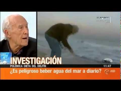 (1/2) Beber agua de mar, debate en Espejo Público con Ángel Gracia y Laura Tauste entre otros