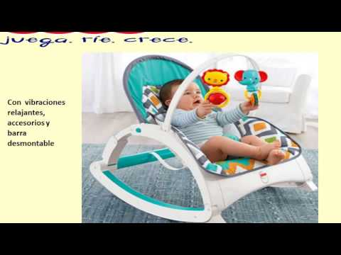 Fisher price silla mecedora 4 en 1 doovi for Silla fisher price para comer