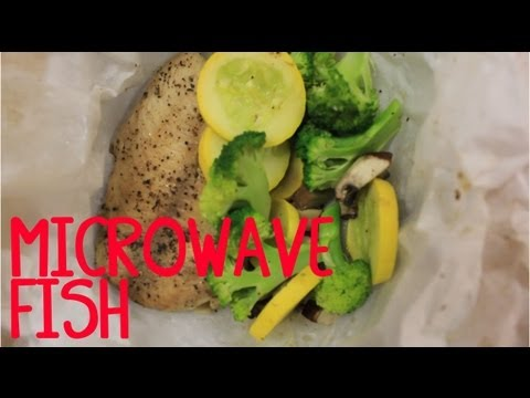 Microwave Fish (Steamed In Parchment Paper)