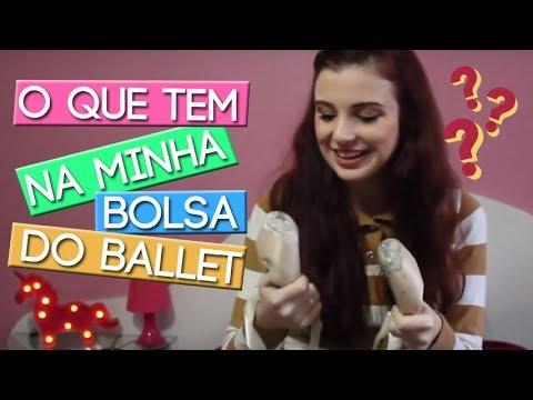 MINHA BOLSA DO BALLET - TUDO O QUE TEM NELA | Luiza Corti Blog
