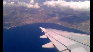 Греция (июнь 2012) Перелет Афины-Салоники(, 2012-07-22T01:24:36.000Z)