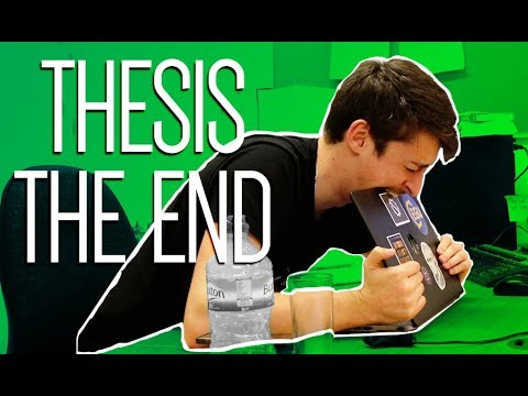 Thesis the end | Life as a PhD student #25