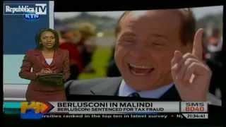 Berlusconi si fa la Vacanza EXTRA LUSSO in Kenya. Il Tg Locale