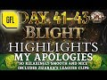 """Path of Exile 3.8: BLIGHT DAY # 41 - 43 Highlights MY APOLOGIES, """"RELAXINGLY SMOOTH"""