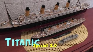 Revell Titanic 1/700 + nano Metall Modellbau Komplettes Modell Sixth Floor Museum JFK Dallas Texas