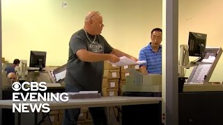 Election workers go down to the wire to complete Florida recounts