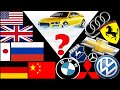Cars, Logos, and Manufacturing Countries