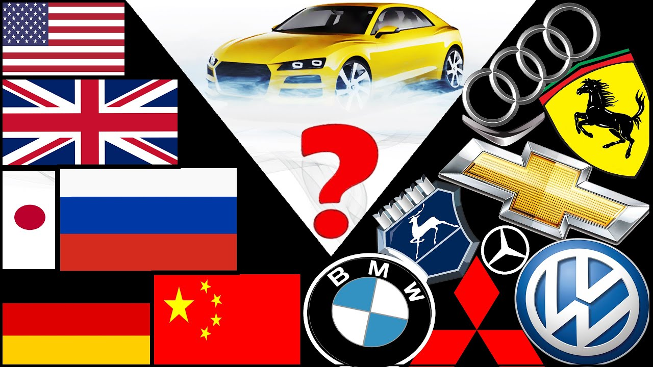 cars logos and manufacturing countries youtube