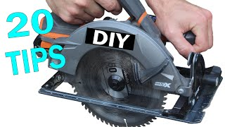 20 Circular Saw Tips for Beginners